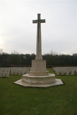 Closeup of Cross of Sacrifice