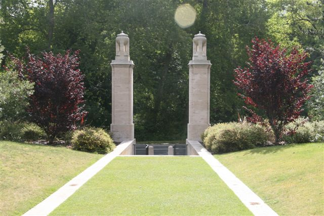 Entrance viewed from within Cemetery