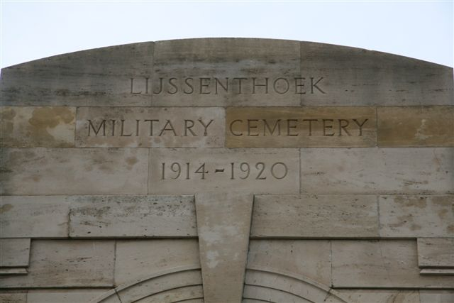 Name inscription over Entrance