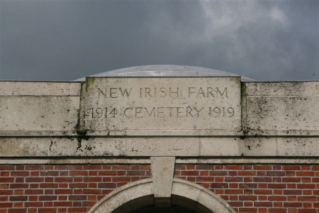 Name & Dates inscription over Entrance