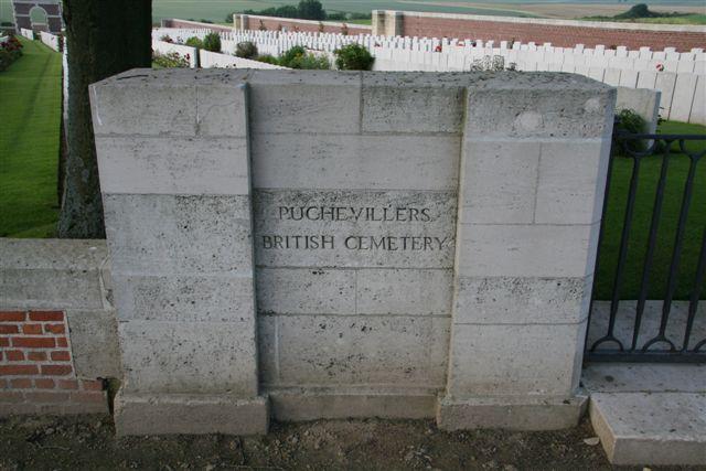 Name inscription on left gatepost