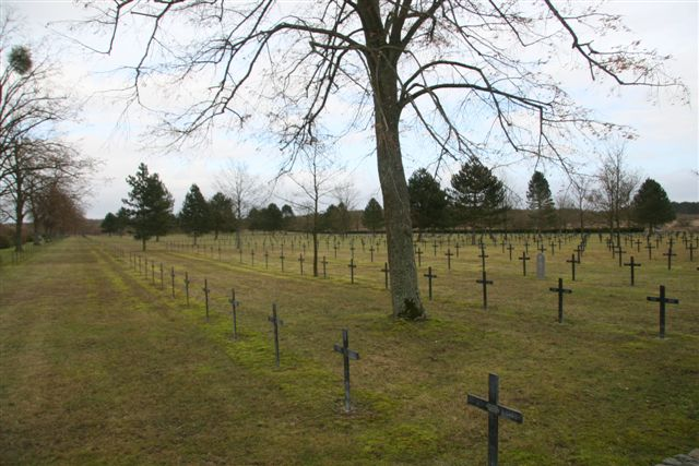 Adjacent German cemetery - View 1