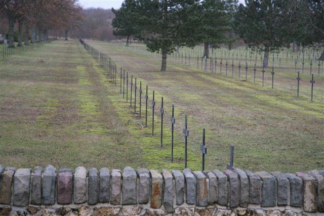 Adjacent German cemetery - View 2